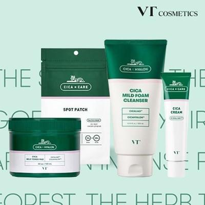 [VTコスメティックス]VTスキンケア スポットパッチ/シカトナーパッド/ シーカフォームクランザー / [VT COSMATICS] CICA Skin care
