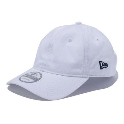 ニューエラ キャップ NEW ERA 9Twenty Basic ボールキャップ 帽子 ホワイト×ネイビーフラッグ