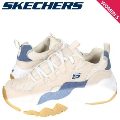 スケッチャーズ SKECHERS ディライト 3.0 スニーカー レディース  DLITES 3.0 ホワイト 白 88888210-TAN