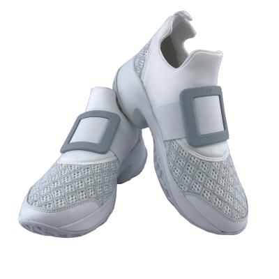 ROGER VIVIER Viv Run 休閒鞋 運動鞋 白色 淺灰色 39號