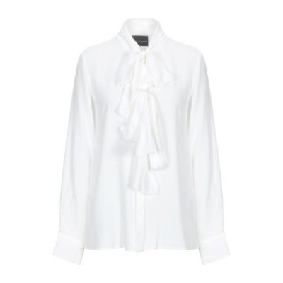 アトス ロンバルディーニ ATOS LOMBARDINI シャツ ホワイト 40 アセテート 76% / シルク 24% シャツ