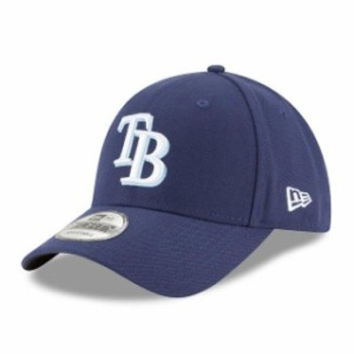 New Era ニュー エラ スポーツ用品  New Era Tampa Bay Rays Mens Navy League 9Forty Adjustable Hat