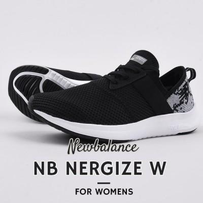 ニューバランス newbalance  レディース スニーカー カジュアル シューズ 靴 女性 NB NERGIZE W A2 黒