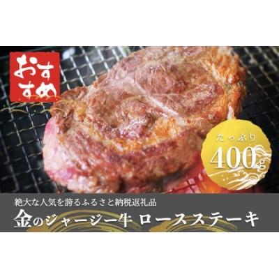 金のジャージー牛 ロースステーキ400g(阿蘇の肉ソース付き)