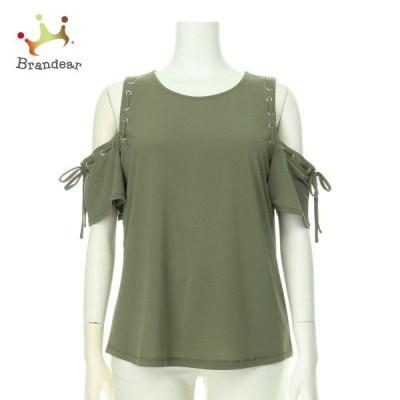 インターナショナルコンセプト カットソー レディース 新品未使用 グリーン系 Tシャツ・カットソー   スペシャル特価 20200914