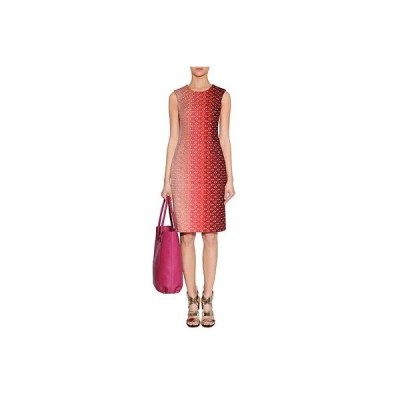 レディース ドレス・ワンピース ミッソーニ Beautiful Rare 1260 Missoni Sunsetマルチ Lurex ニット Full Side ジップ ドレス Sz 40