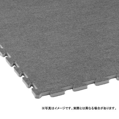 個人宅配送不可 ぱずるくん45 スロープ 5.8 × 45 (cm) 色:グレー 保温 防音 カーペット 大一産業 共B 送料無料 代引不可