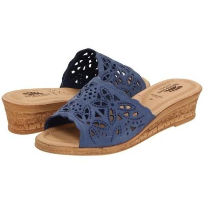 スプリングステップ Spring Step レディース ヒール シューズ・靴 Estella Blue