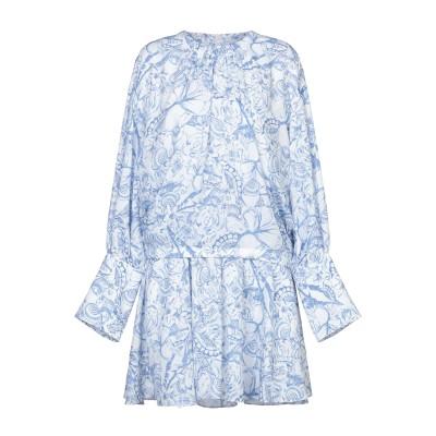 ティビ TIBI ミニワンピース&ドレス ブルー 2 ポリエステル 100% ミニワンピース&ドレス