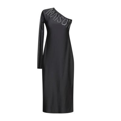 MAISON 9 Paris 7分丈ワンピース・ドレス ブラック S ナイロン 80% / ポリウレタン 20% 7分丈ワンピース・ドレス