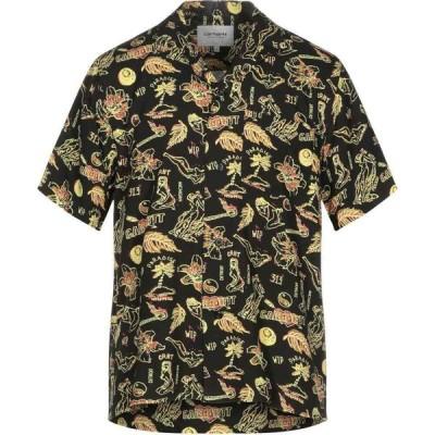カーハート CARHARTT メンズ シャツ トップス patterned shirt Black