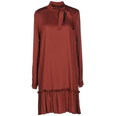マニラ グレース MANILA GRACE ミニワンピース&ドレス ボルドー 38 レーヨン 97% / ポリウレタン 3% ミニワンピース&ドレス