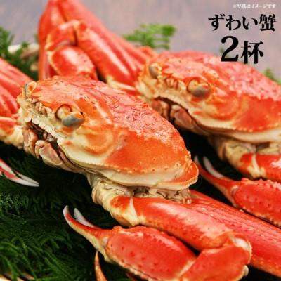 お取り寄せ グルメ ギフト ずわい蟹 2杯(550gupx2) 翌日発送 翌日出荷 ズワイガニ 蟹 カニ 食品 送料無料