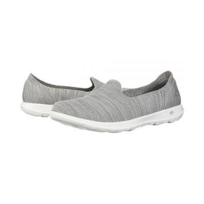 SKECHERS Performance スケッチャーズ レディース 女性用 シューズ 靴 スニーカー 運動靴 GOwalk Lite - Sweet Pea - Gray