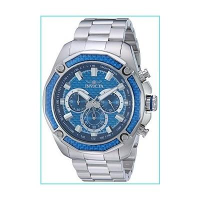 Invicta Men's Aviator Steel Bracelet & Case Quartz Blue Dial Analog Watch 22804【並行輸入品】