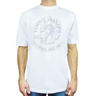 トミーバハマ  TシャツTommy BAHAMA メンズ GRAPHIC TEE 'FRESH AND FAMOUS' 100% コットン 半袖S