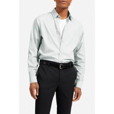 エバーレーン メンズ シャツ トップス Standard Fit Performance Shirt CELADON GREY