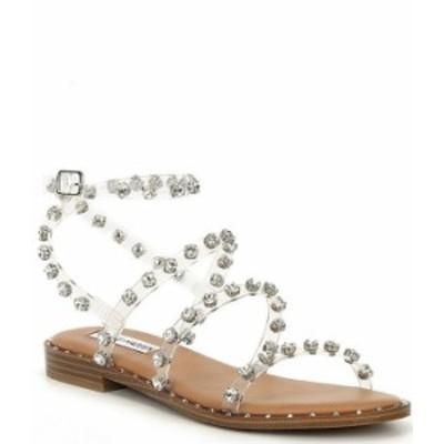 スティーブ マデン レディース サンダル シューズ Travel-R Rhinestone Sandals Clear