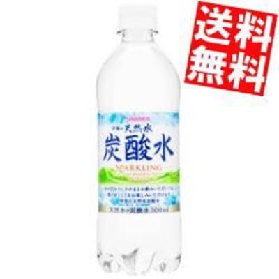 【送料無料】サンガリア 伊賀の天然水 炭酸水 500mlペットボトル 24本入[のしOK]big_dr
