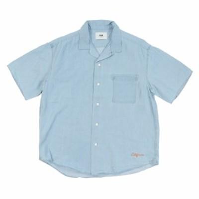 エスエーエス(SAS)リラックスデニムオープンカラーシャツ SAS1954611-73 L/BLUE(Men's)