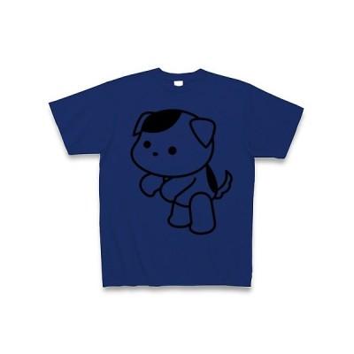 ちんちんいぬ Tシャツ(ロイヤルブルー)