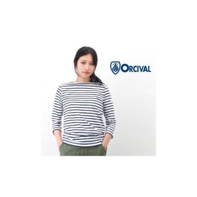ORCIVAL オーシバル レディース ボートネックカットソー(RC-6882)(BASIC)