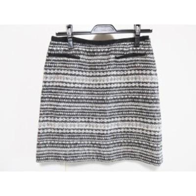 トゥモローランド TOMORROWLAND スカート サイズ36 S レディース アイボリー×黒【中古】