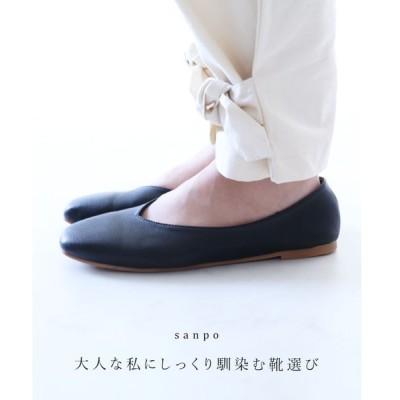 (ブラック)大人な私にしっくり馴染む靴選び