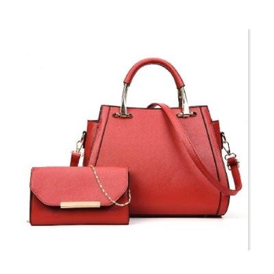 FRP / 【PUレザー 使い勝手の良い2WAYバッグ&斜め掛け財布・ポーチ付き】 WOMEN バッグ > ハンドバッグ