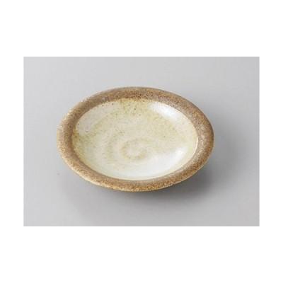 小皿 茶渕3.0皿 [10 x 2.3cm]  料亭 旅館 和食器 飲食店 業務用