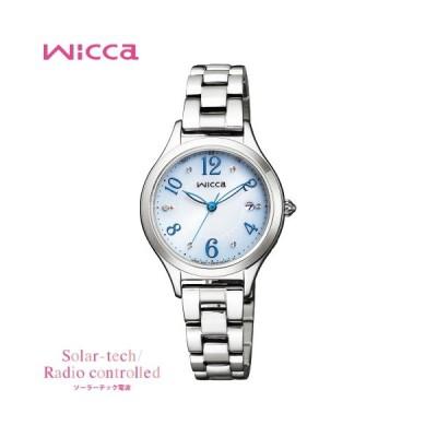 レディースウォッチ 腕時計 刻印 名入れ 文字入れ ダイヤ入り ソーラー電波ウォッチ wicca ウィッカ 入学祝い 卒業記念 就職祝い おすすめ 人気 贈答ウォッチ