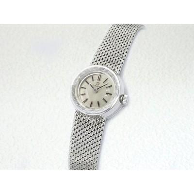 音羽屋■送料無料■ オメガ OMEGA デビル 771.894 K18WG ホワイトゴールド レディース 手巻き 腕時計