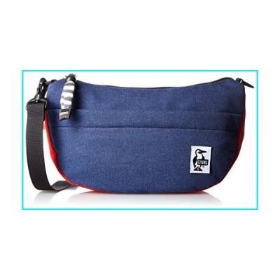[CHUMS]Mini Banana Shoulder Bag (H・Navy/Tomato)【並行輸入品】