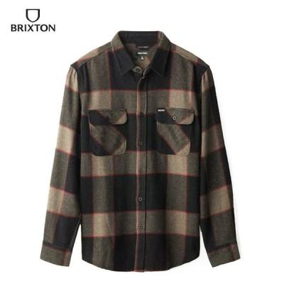 BRIXTON BOWERY LS FLANNEL ブリクストン ネルシャツ フランネル 01213 メンズ トップス 長袖シャツ/BRIX336A