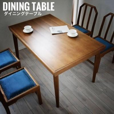 JEM ジェム ダイニングテーブル (机 テーブル 木製 シンプル 4人掛け アンティーク レトロ 和室 ノスタルジック)