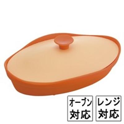 【シリコンスチーマー オーバル】シービージャパン CB JAPAN フルール シリコンスチーマー オーバル バレンシアオレンジ