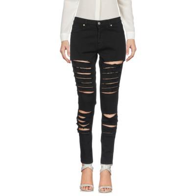 GAëLLE Paris パンツ ブラック 25 コットン 98% / ポリウレタン 2% パンツ