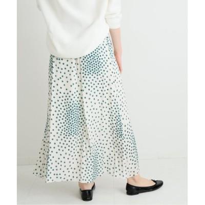 【イエナ/IENA】 RISA プリント スカート◆