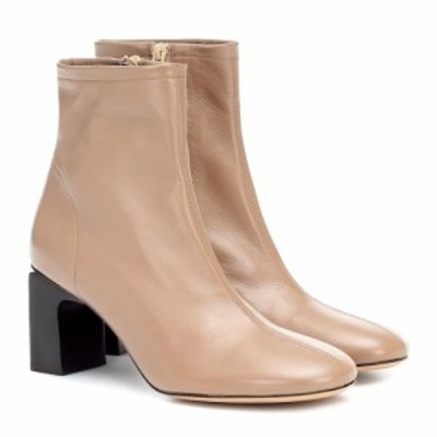 バイ ファー By Far レディース ブーツ ショートブーツ シューズ・靴 vasi leather ankle boots Nude Nu