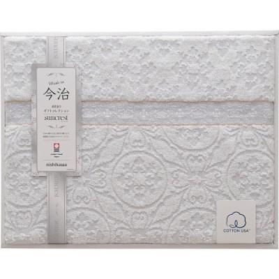 西川 今治タオルケット グレー RR89080553