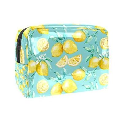Cosmetic Bag, Travel Storage Bags, Female Special Makeup Bag Citrus Fruit Yellow Lemon Pattern New Super Fire.