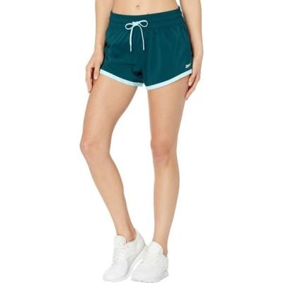 リーボック Reebok レディース ショートパンツ ボトムス・パンツ Training Essentials Shorts Forest Green