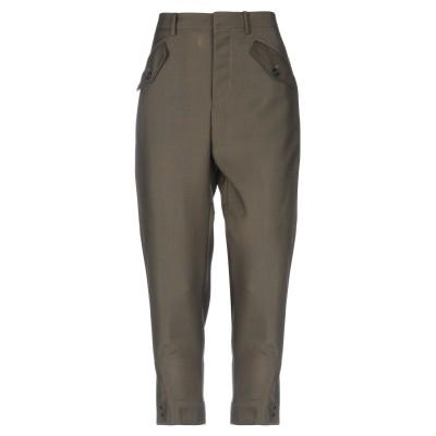 ヌメロ ヴェントゥーノ N°21 パンツ ミリタリーグリーン 40 モヘヤ 60% / バージンウール 40% パンツ