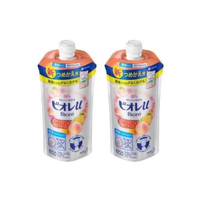 ビオレu スイートピーチの香り (レフィル) 340ml x 2個