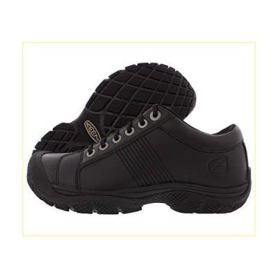 【並行輸入品】KEEN Utility Men's PTC Oxford Low Height Non Slip Food Service Chef Shoe, Black/Black, 11 Medium US