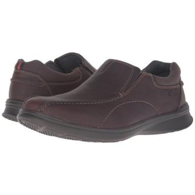 クラークス スリッポン・ローファー シューズ メンズ Cotrell Step Brown Oily Leather