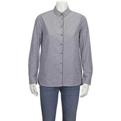 ユニセックス 衣類 トップス Chinti and Parker Ladies Button Down Cotton Shirt Brand Size 8 ブラウス&シャツ