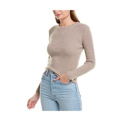 レディース ファッション  Monrow Ribbed Wool & Cashmere-Blend Sweater