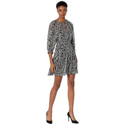 レベッカテイラー レディース ワンピース トップス Long Sleeve Zebra Lily Dress