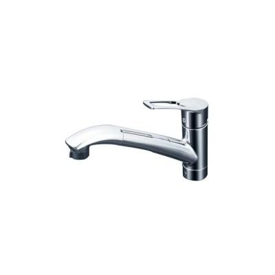 KVK:流し台用シングルレバー式シャワー付混合栓 型式:KM5031JT